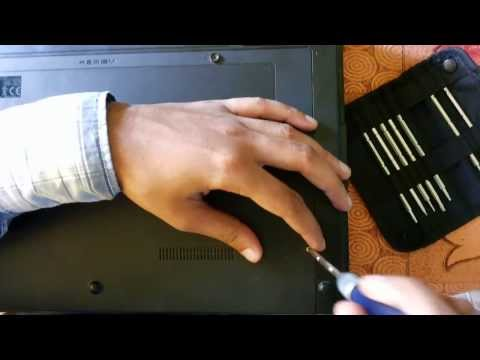 HARD DISK replacement Disassembly Compaq 621