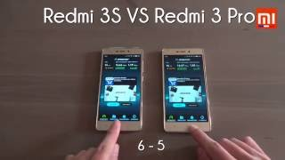 Test Xiaomi : RedMi 3S Vs RedMi 3 PRO (MIUI 8 : Battery, Benchmark, Speed...)