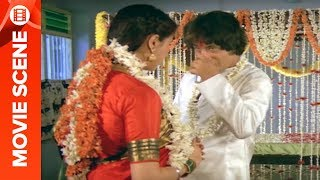 Shakti Kapoor Dreaming About Honeymoon  - Dharm Adhikari   Sridevi Best movie