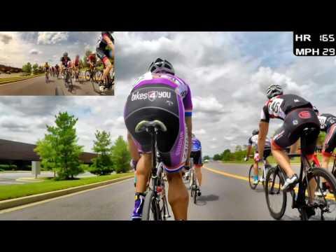 HD 2016 Road Bicycle Racing - Criterium Racing (Trainer/Rollers)