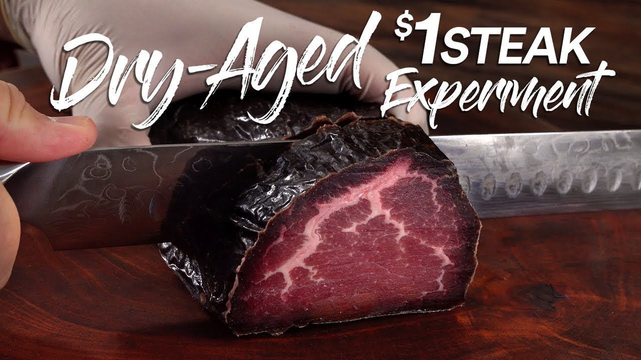 Can DRY AGE save a $1 Steak? | Guga Foods