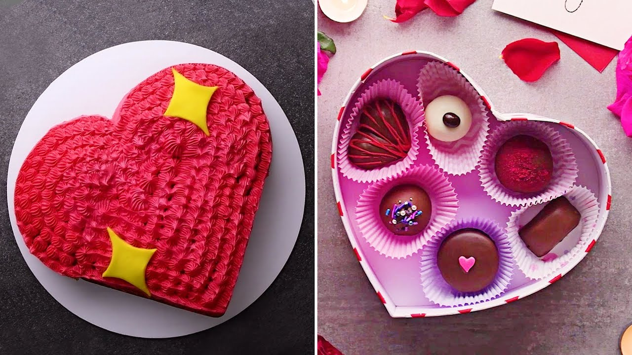 Valentine's Day Special | Easy Dessert Recipes And DIY Valentines Day Treats | So Yummy