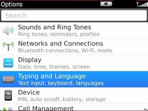 Set, change, or remove a password on your BlackBerry smartphone