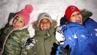 Snow Night Time Routine