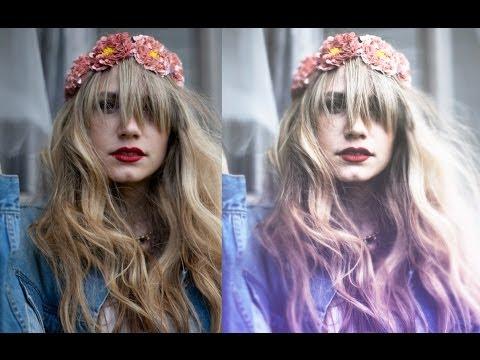 VSCO / VINTAGE Film Photo Effect - Photoshop Tutorial