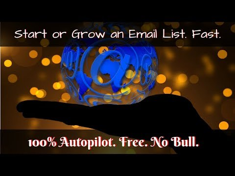 How to Start or Grow an Email List Fast and Free   How to Build an Email List for Beginners ★★★★★