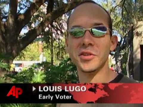 Florida Voters Take Advantage of Early Voting
