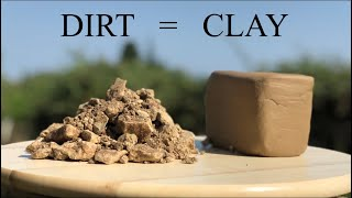 Download How To Make Clay From Dirt Video