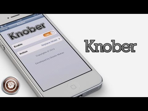 Knober - Hidden Lock Screen Toggle Cydia Tweak