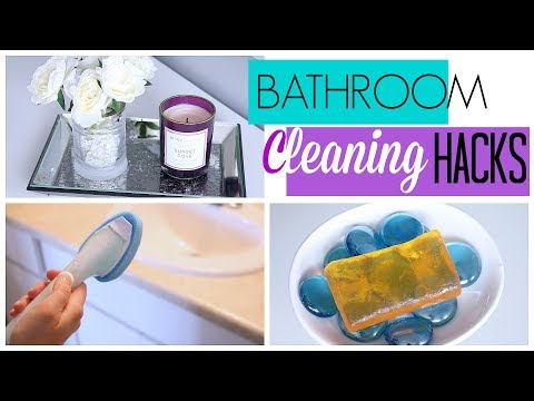 7 Bathroom Cleaning Hacks to Make Cleaning EASIER