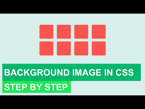 Background Image in CSS | step by step tutorial
