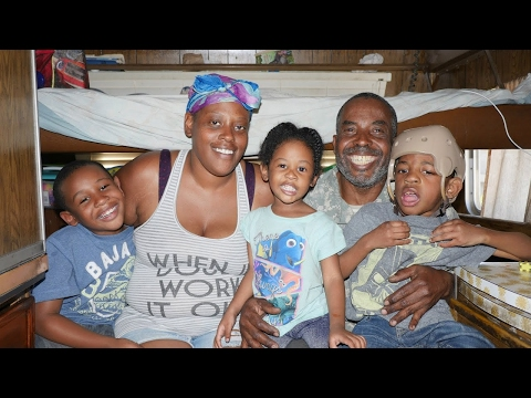 Homeless Family Living in RV With Special Needs Child