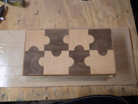 Puzzle Piece Cheese Board