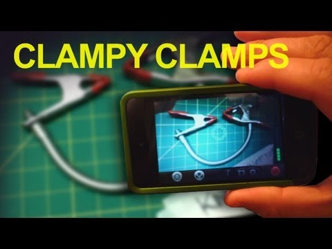 Homemade Flexible Clamps & Filming on an iPod Touch - QUICK FX