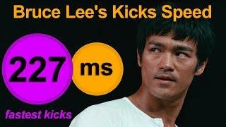 Bruce Lee Kicks Speed