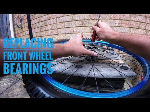 Replacing Front Wheel Bearings - Voodoo Shango - Mountain Bike