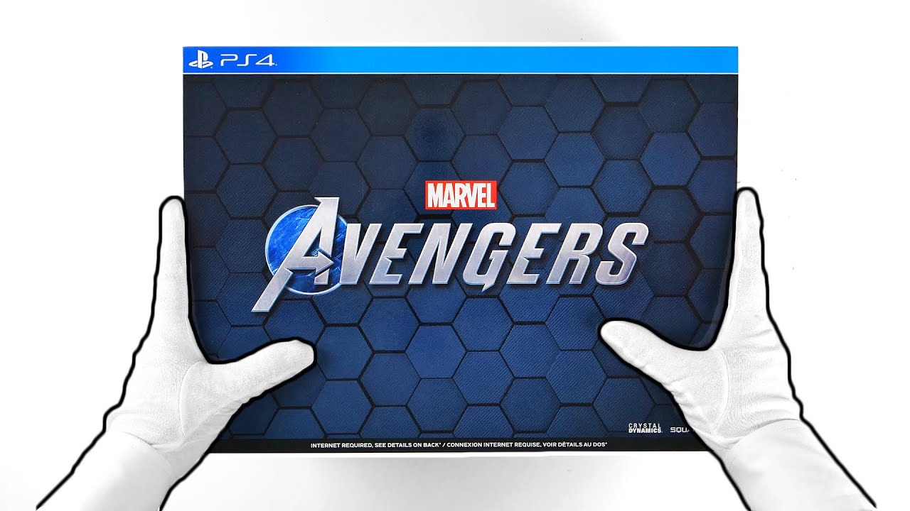 Unboxing MARVEL'S AVENGERS Earth's Mightiest Edition [PS4]