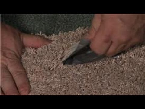 Carpet Cleaning : Removing Adhesive From Carpet