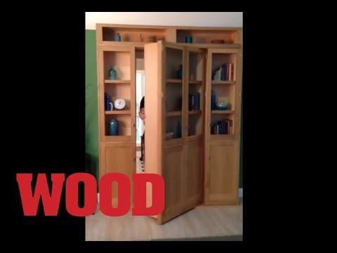 Hidden Door Bookcase - WOOD magazine