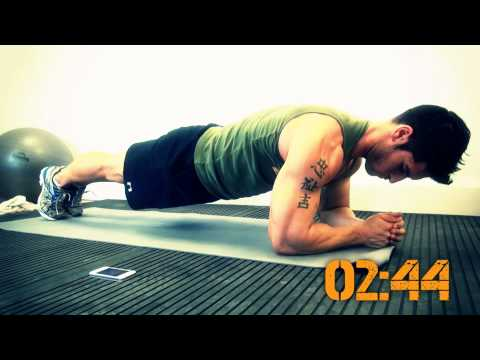 8 minute abs with Jamie Alderton