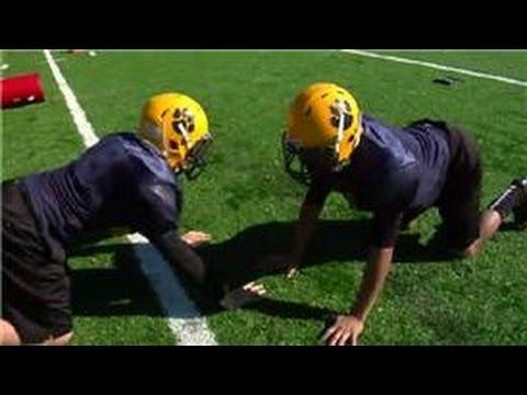 Football Drills & Skills : Full Contact Football Camp Activities