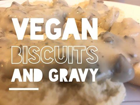 Vegan Biscuits and Gravy | Easy & Vegan
