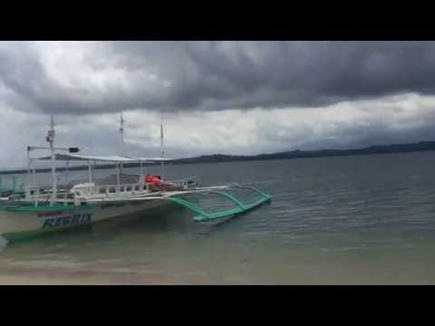 Cowrie island in puerto princesa one of Palawan islands