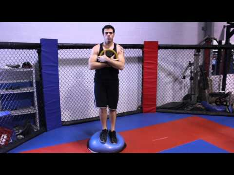 Weightlifting Exercises for Strong Knees : Wrestling & Martial Arts Techniques