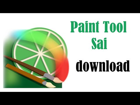 HOW TO DOWNLOAD PAINT TOOL SAI FULL VERSION