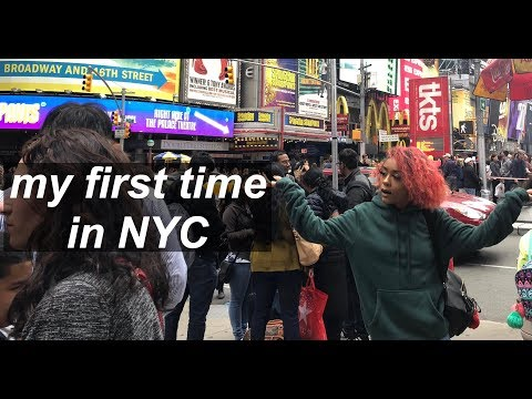 MY FIRST TIME IN NYC | VLOG