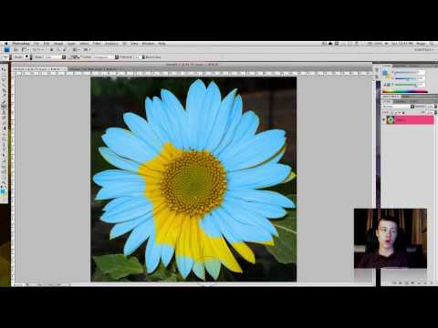 How to change the color of an object in Photoshop