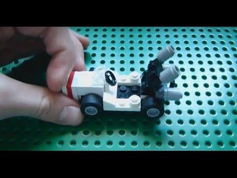 How to Build: Lego Mario Kart - Part 1