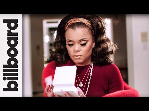 Andra Day, Gift Giving & Holiday Traditions Presented by PANDORA Jewelry | Billboard