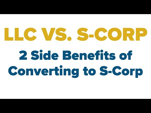 LLC vs S corp - 2 Obscure Reasons to Convert to an S-corp