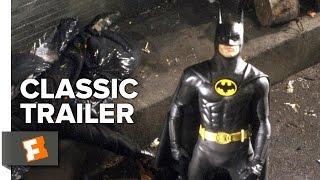 Batman 1989 Official Trailer 1 Tim Burton Superhero Movie