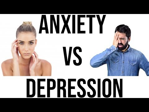 Anxiety VS Depression (How To Tell The Difference)