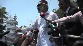 Dunya News   Zulfiqar mirza seems confident on arrival in court premises