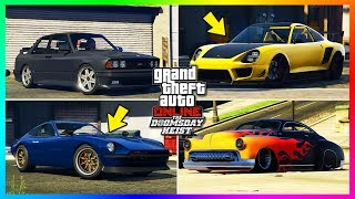 GTA Online Doomsday Heist DLC - 13 NEW Unreleased Vehicles Gameplay - Prices, Release Dates & MORE!