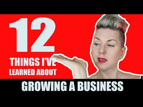 12 Lessons I've Learned While Growing A Business (HBD Truly Social)