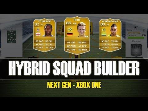 FIFA 14 - EPIC 35K HYBRID SQUAD BUILDER - with REUS and STURRIDGE!