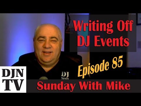 Writing Off Events | Phone Scammers | Photo Releases | Sunday With Mike #DJNTV Episode 85