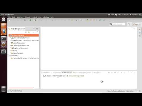 Howto develop a basic web application in Java