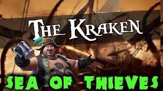 Битва с кракеном - Sea Of Thieves Эпик нападение