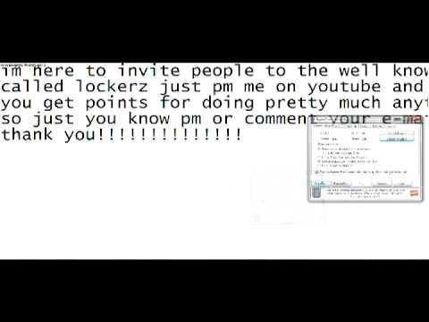 lockerz utimate hack- needs your unused email address