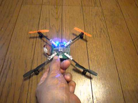 Make DIY Electronics Gadget. It's a Quad Helicopter named T-Drone programmable yourself.