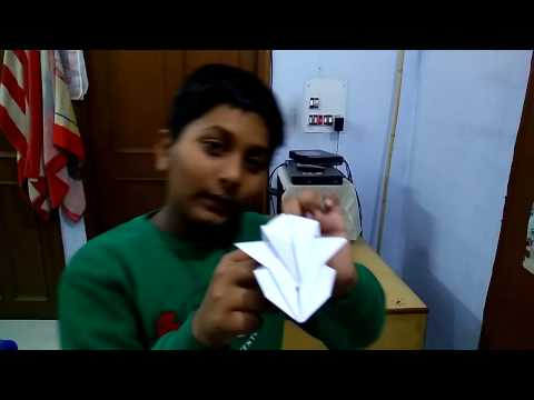 How to make a paper flying car in Hindi