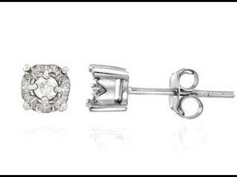 Diamond Earring Studs