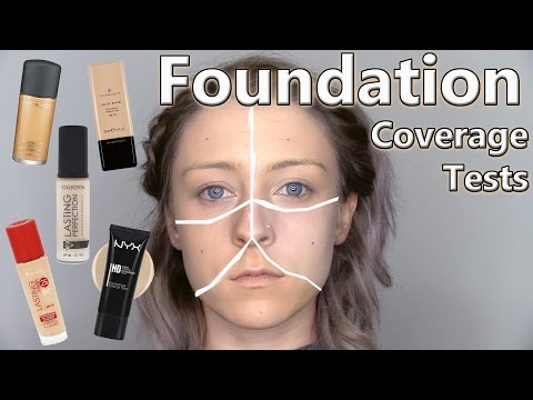 Liquid Foundation Comparison - Which Foundation Has The Best Coverage? - Naio Makeup