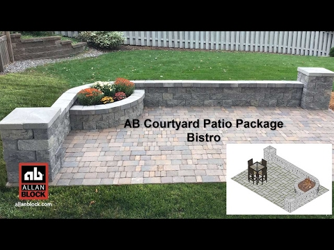 AB Courtyard Patio Package Bistro