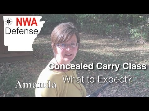 Concealed Carry Class: What to Expect?